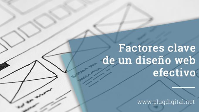 Factores clave de un diseño web efectivo