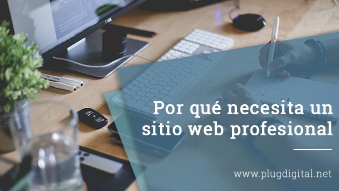 Por qué necesita un sitio web profesional