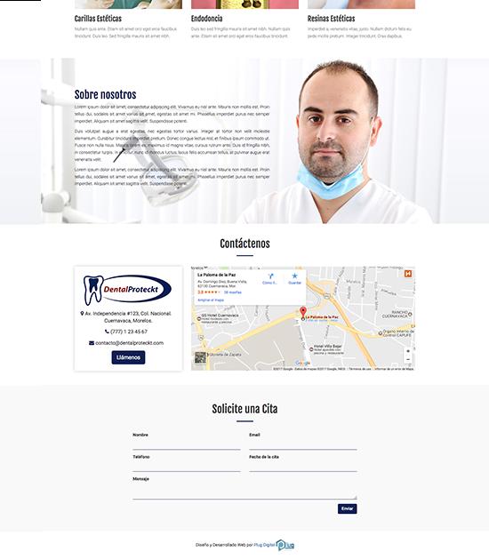Páginas Web Económicas para Dentistas 2
