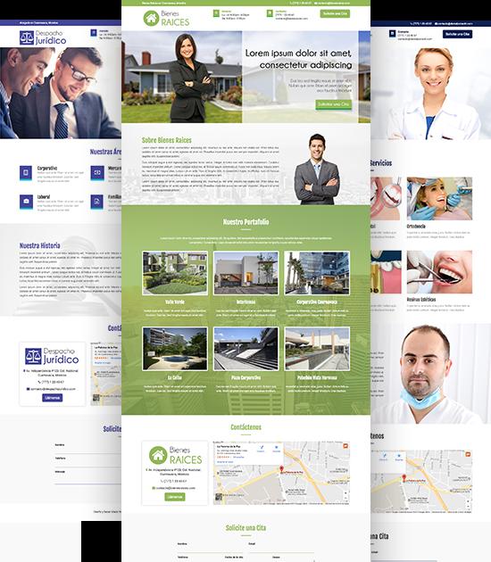 Páginas Web Económicas Ejemplo
