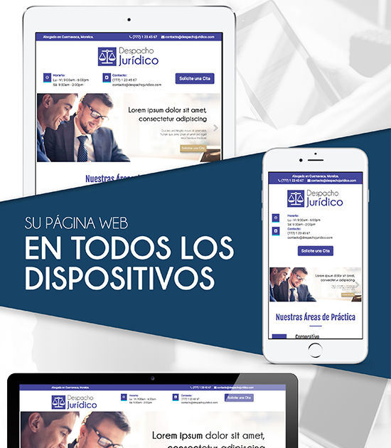 Páginas Web Económicas Responsivas